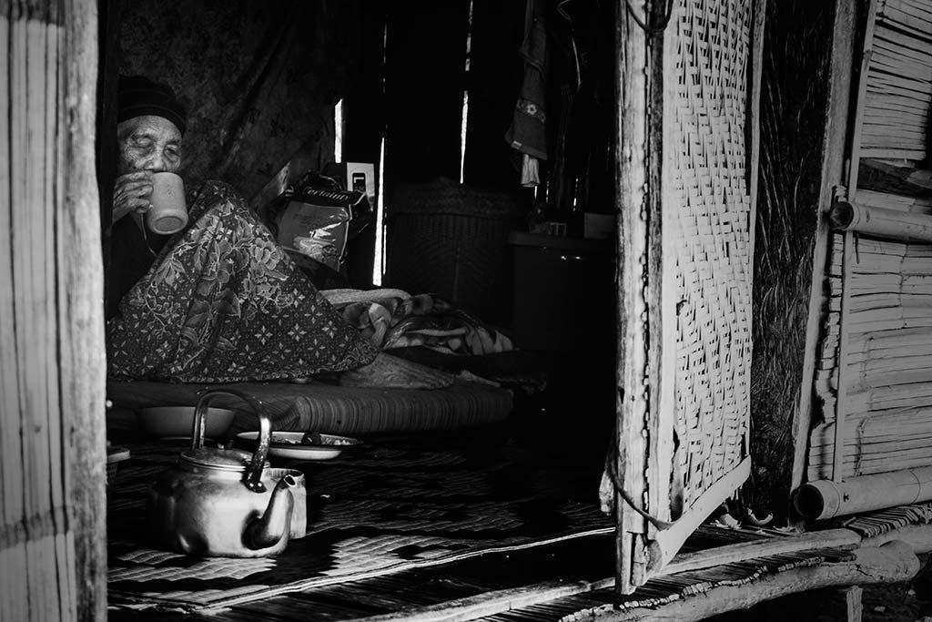 fotografía de viaje Tailandia anciana