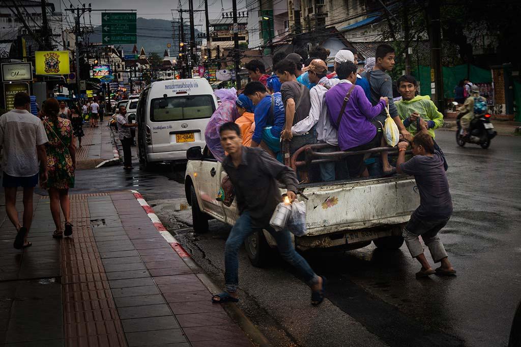 fotografía de viaje Tailandia trabajadores