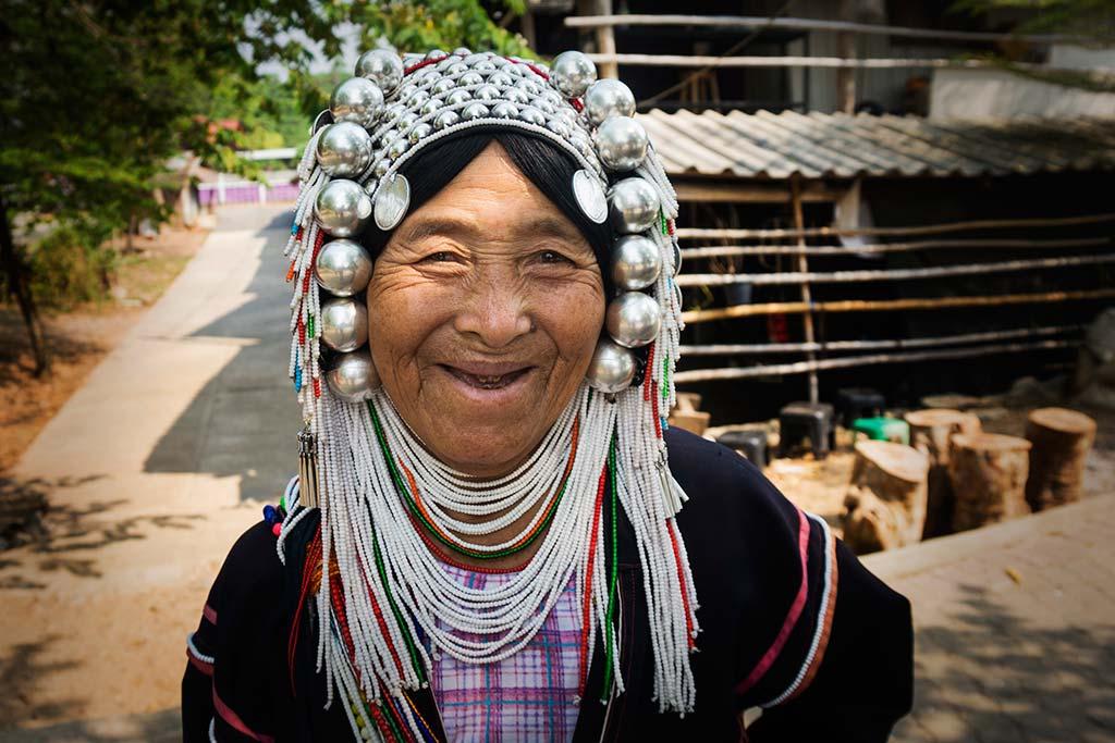 fotografía de viaje Tailandia mujer tradicional