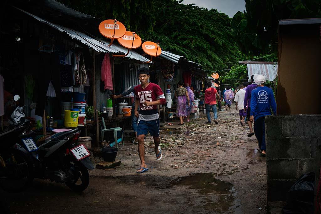 fotografía de viaje Tailandia poblado