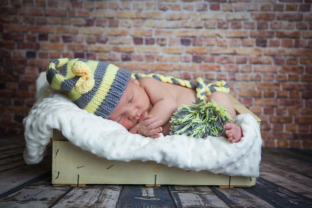 fotos de bebes Enzo caja