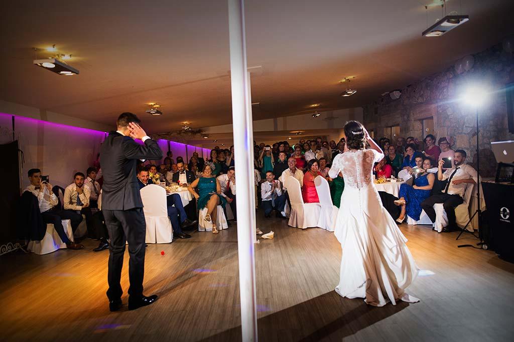 fotos de boda solares baile novios