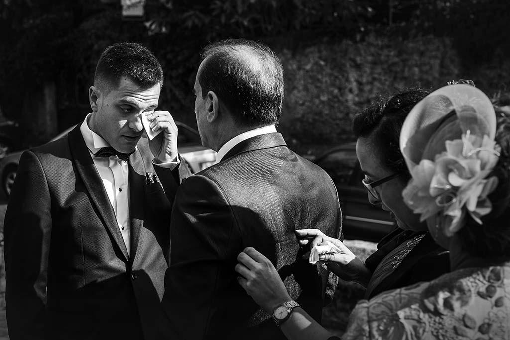 fotos de boda solares lagrimas novio