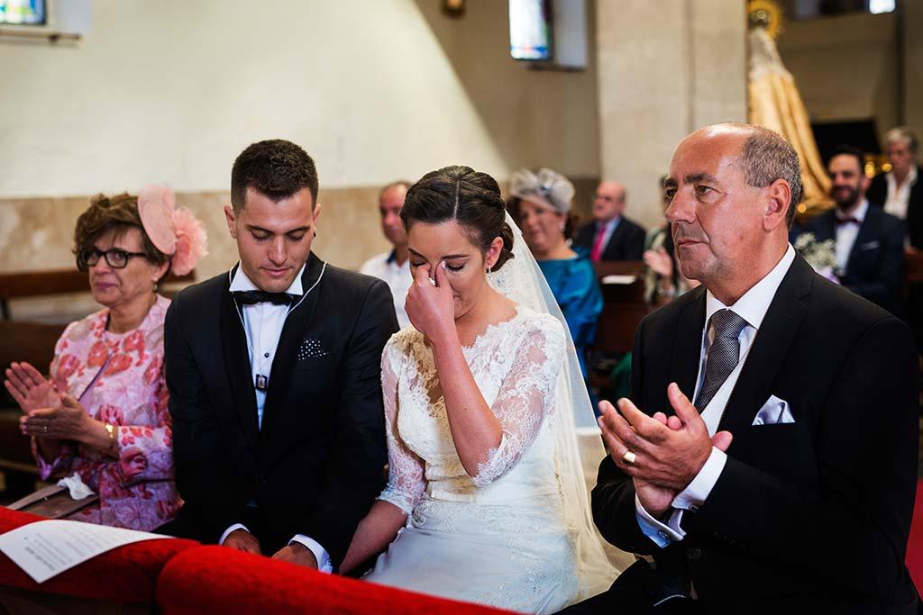 fotos de boda solares lagrimas novia