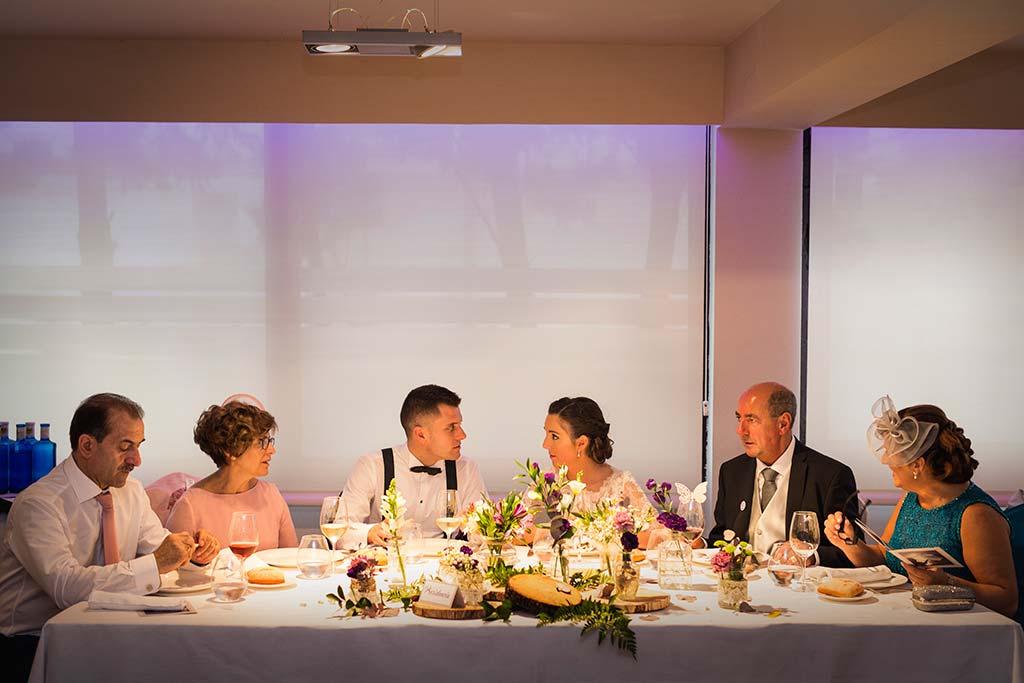 fotos de boda solares mesa