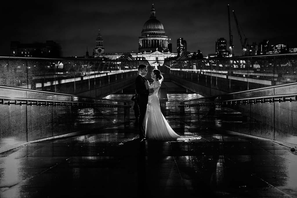 fotos de boda solares milenium bridge