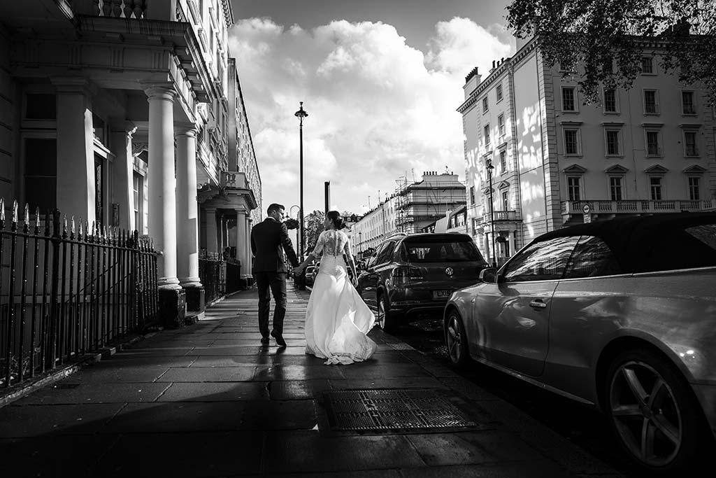 fotos de boda solares paseo por londres