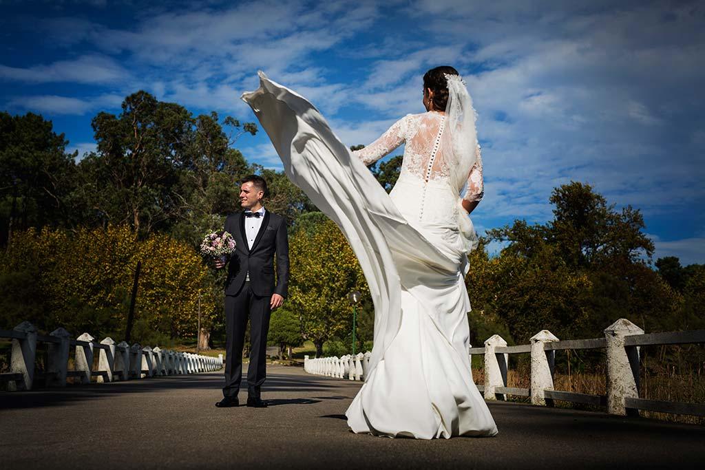fotos de boda solares reportaje novios