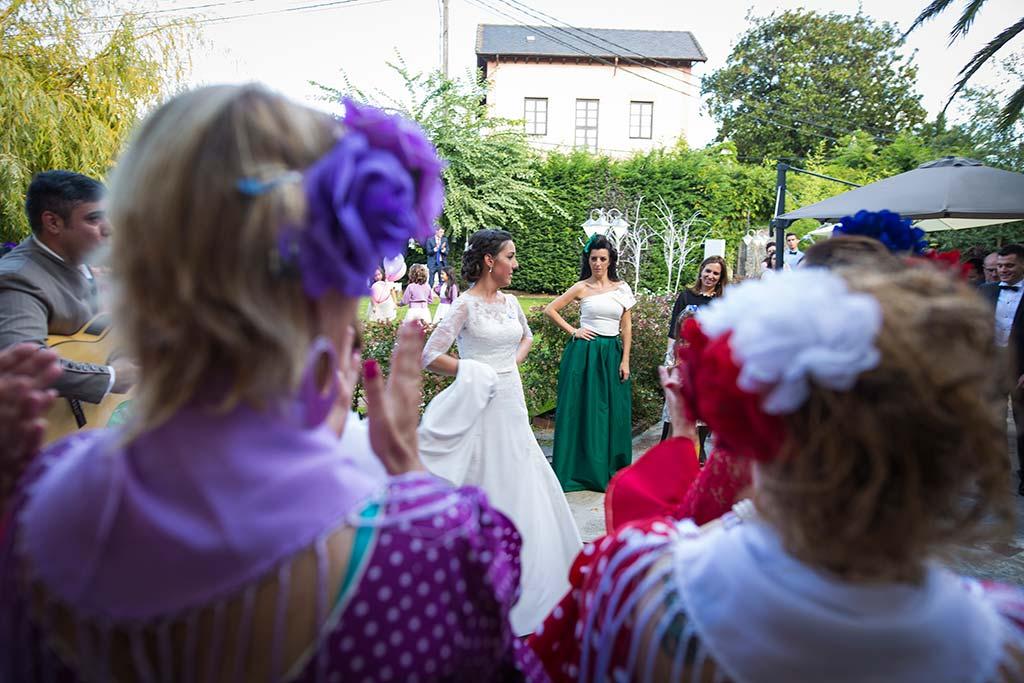 fotos de boda solares baile sevillanas