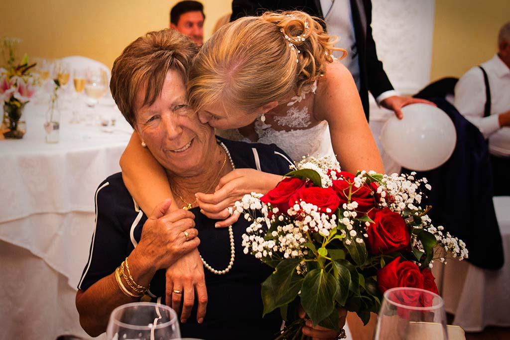 Fotos de bodas Santander Diana y Javier abuela