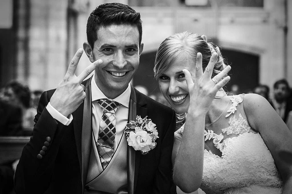 Fotos de bodas Santander Diana y Javier anillos