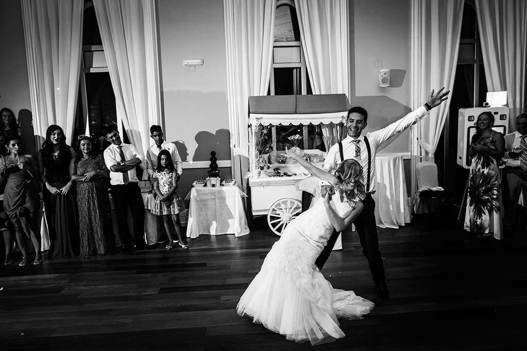 Fotos de bodas Santander Diana y Javier baile