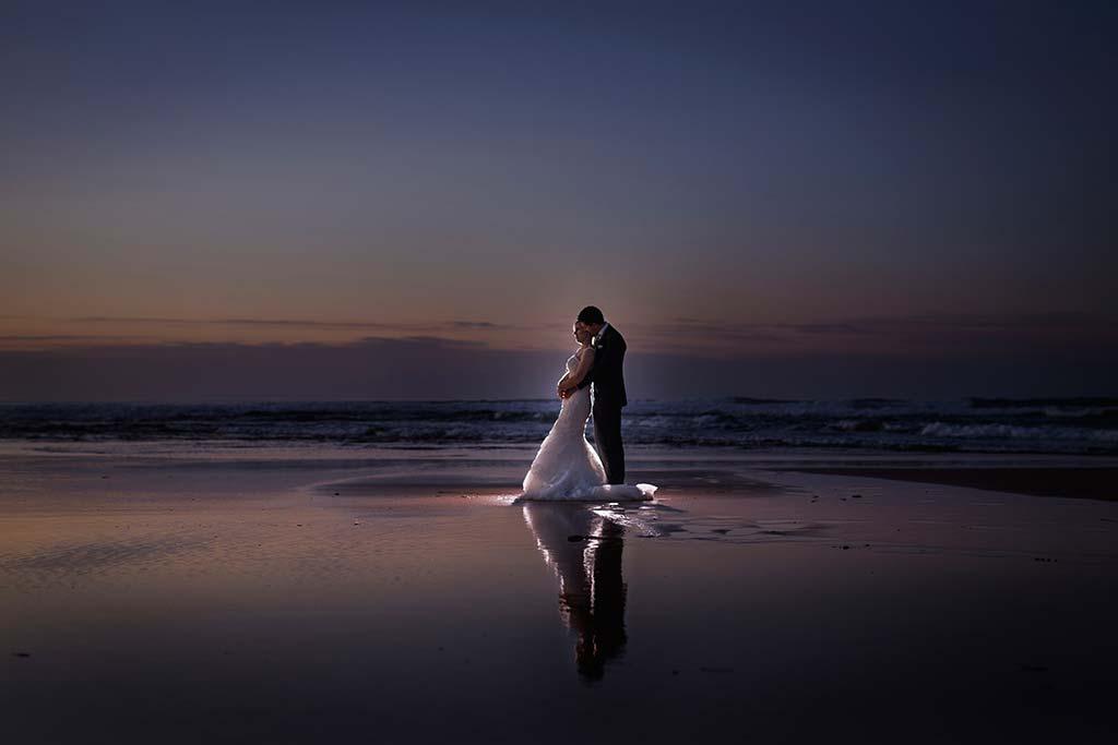 Fotos de bodas Santander Diana y Javier playa
