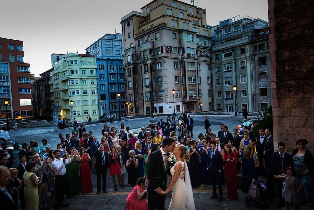 Fotos de bodas Santander Diana y Javier salida