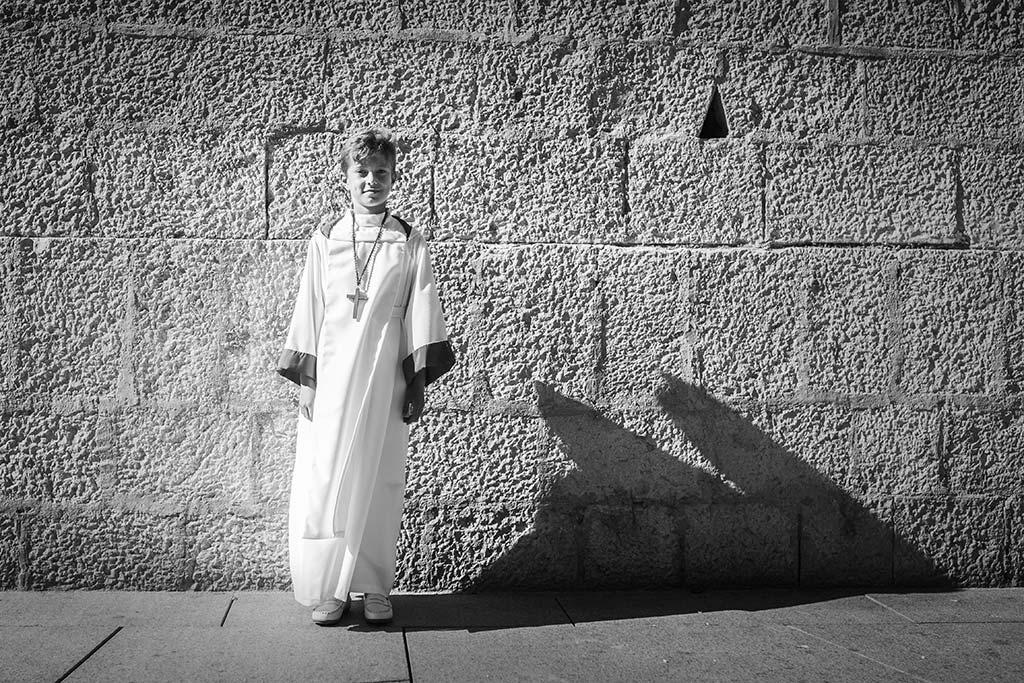 fotos comunión en Santander Marcos Greiz Mario blanco y negro