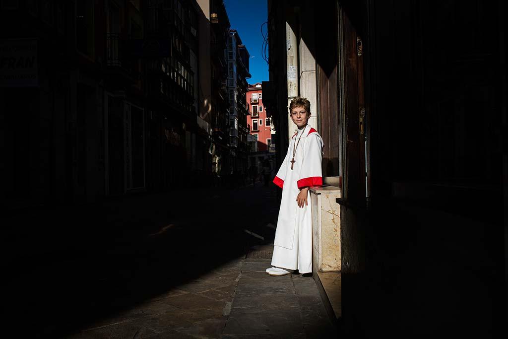 fotos comunión en Santander Marcos Greiz Mario luces sombras