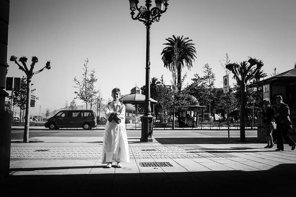 fotos comunión en Santander Marcos Greiz Mario paseo