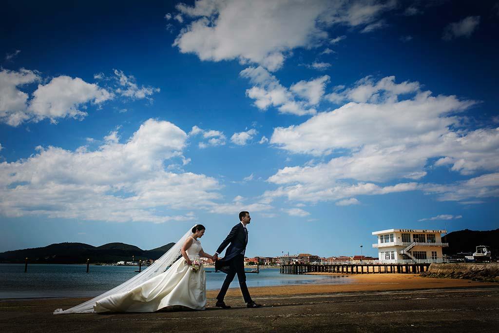 fotografo bodas Laredo Cantabria playa