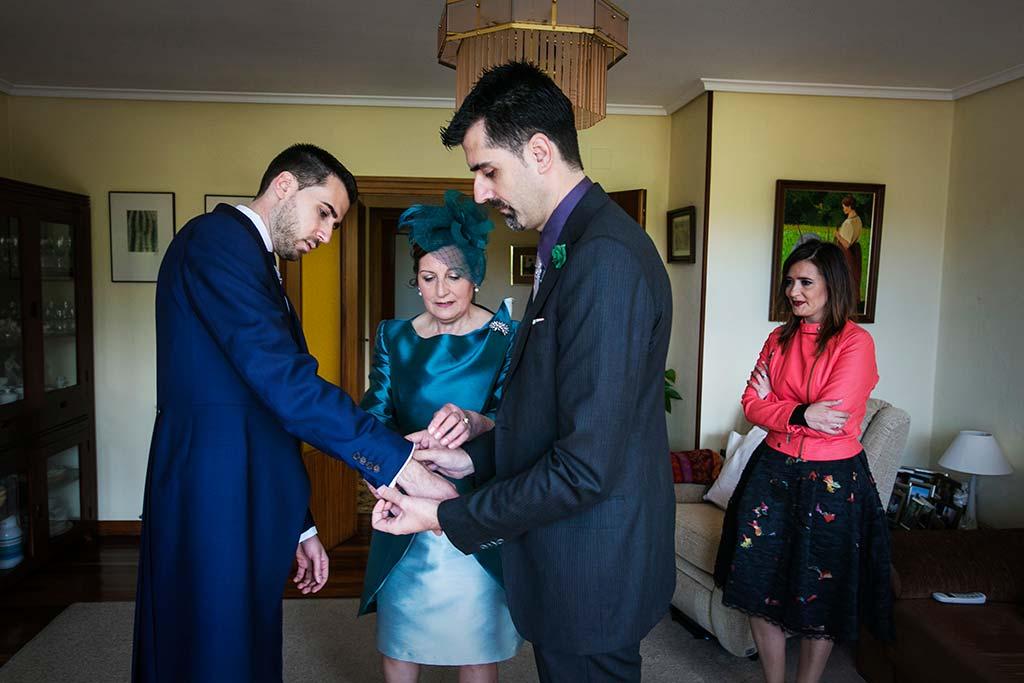 fotografo bodas Laredo Cantabria con hermano