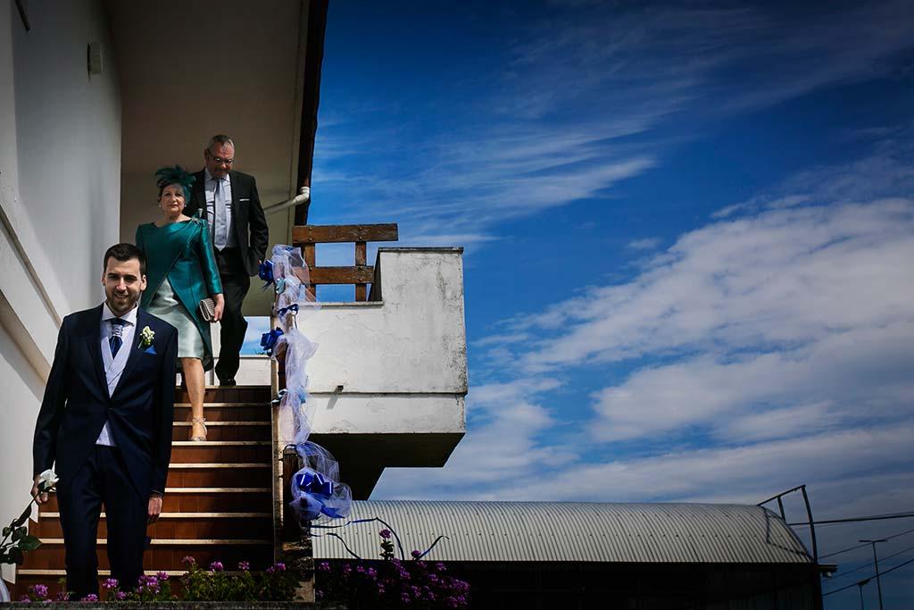 fotografo bodas Laredo Cantabria salida