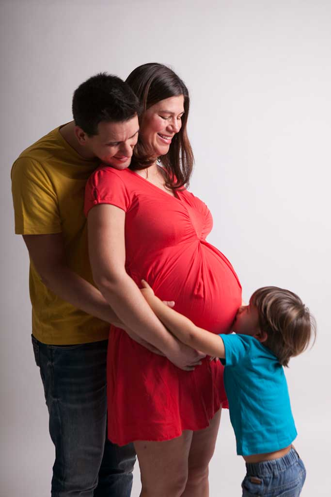 fotos de embarazas marcos greiz Damian familia