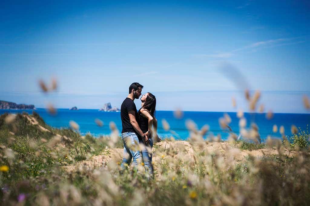 fotografo de bodas preboda liencres isa asier espigas