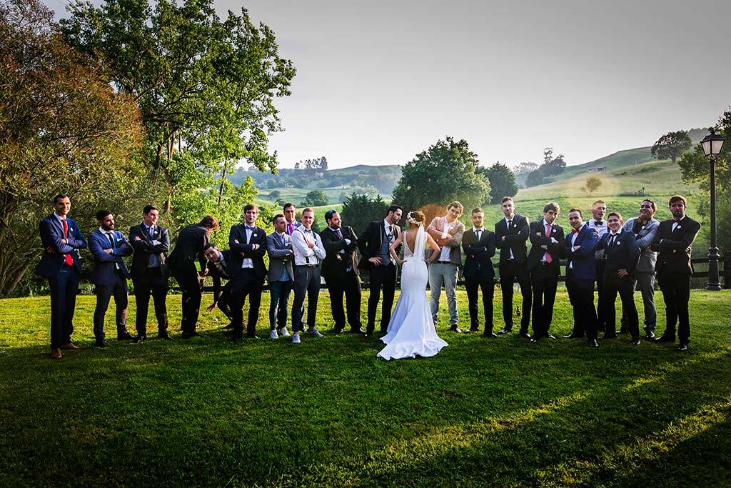 fotografo de bodas Cantabria Isa y Asier chicos