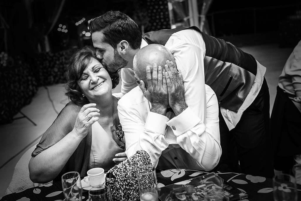 fotografo de bodas Cantabria Isa y Asier papas