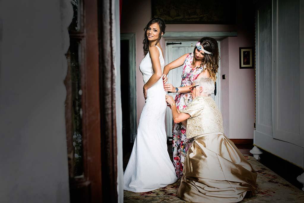 fotografo de bodas Cantabria Isa y Asier novia