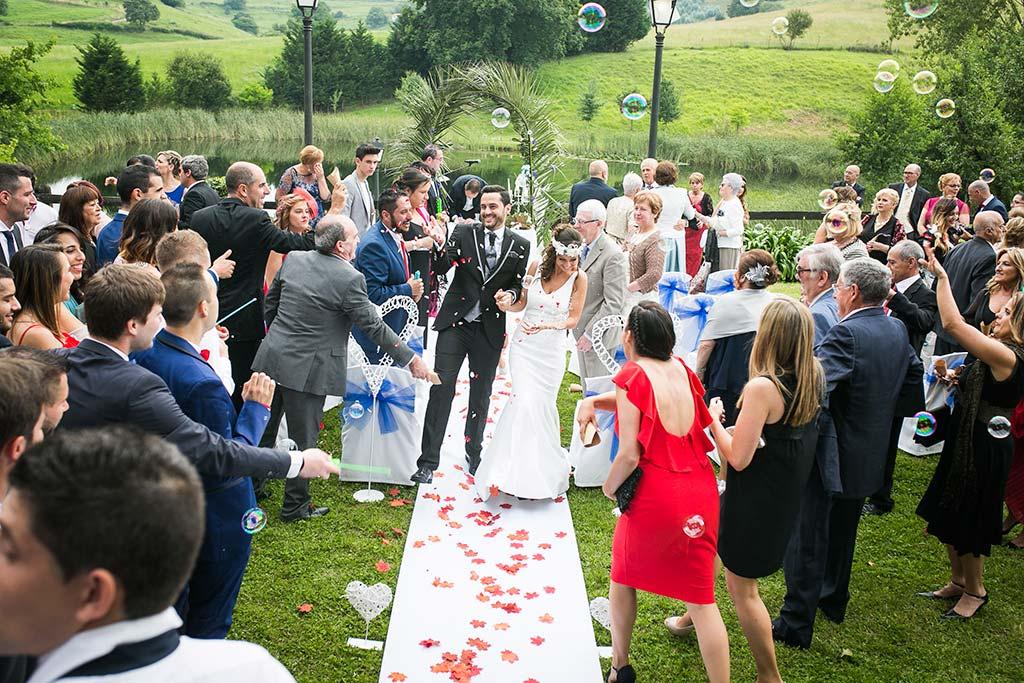 fotografo de bodas Cantabria Isa y Asier salida