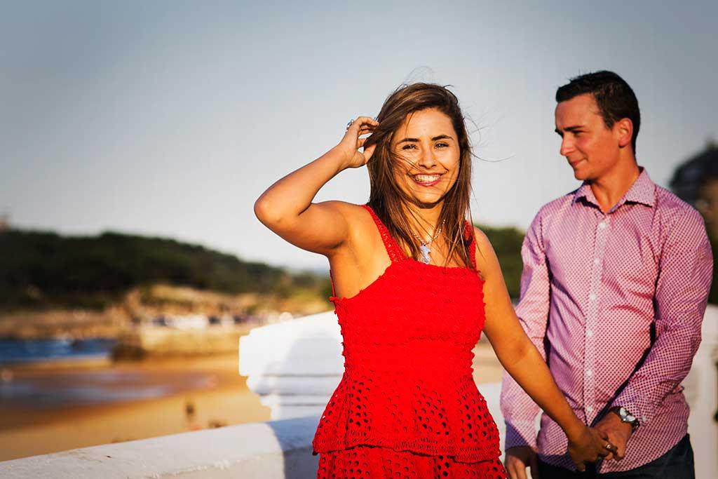 fotos preboda Santander Marcos Greiz Andrea y Samuel novia