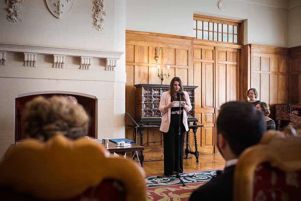 fotografo de bodas Santander Maria y Angel lectura
