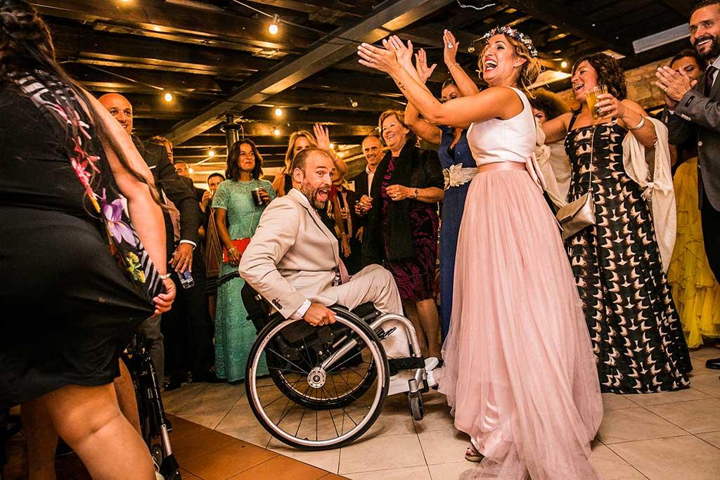 fotógrafo de bodas Cantabria baile nupcial