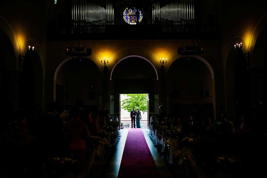 fotografo bodas Cantabria Andrea y Samuel entrada novio