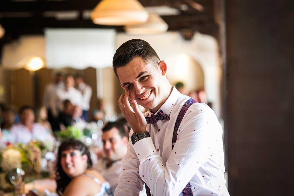 fotografo bodas Cantabria Andrea y Samuel lloros hermano