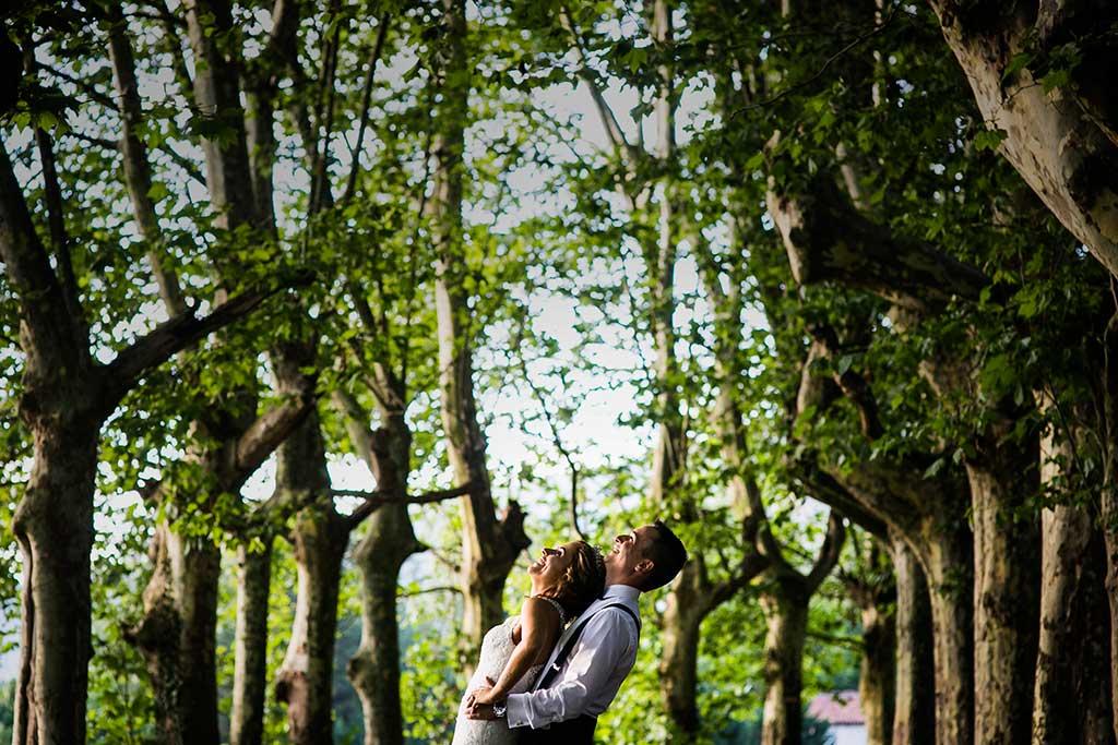 fotografo bodas Cantabria Andrea y Samuel risas