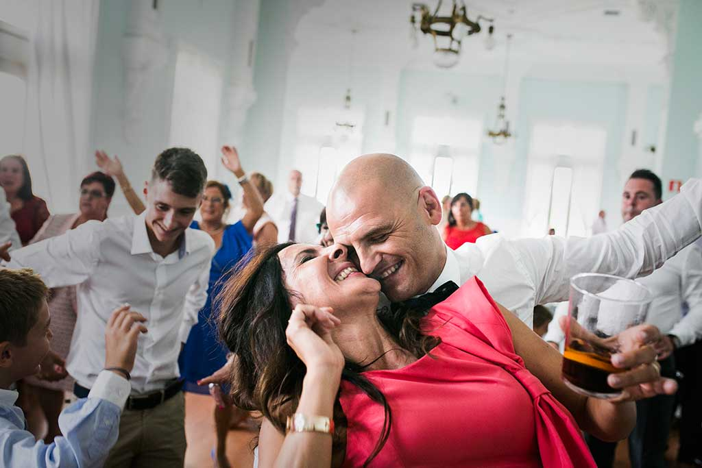 fotógrafo de bodas Santander Sandra y Fran fiesta