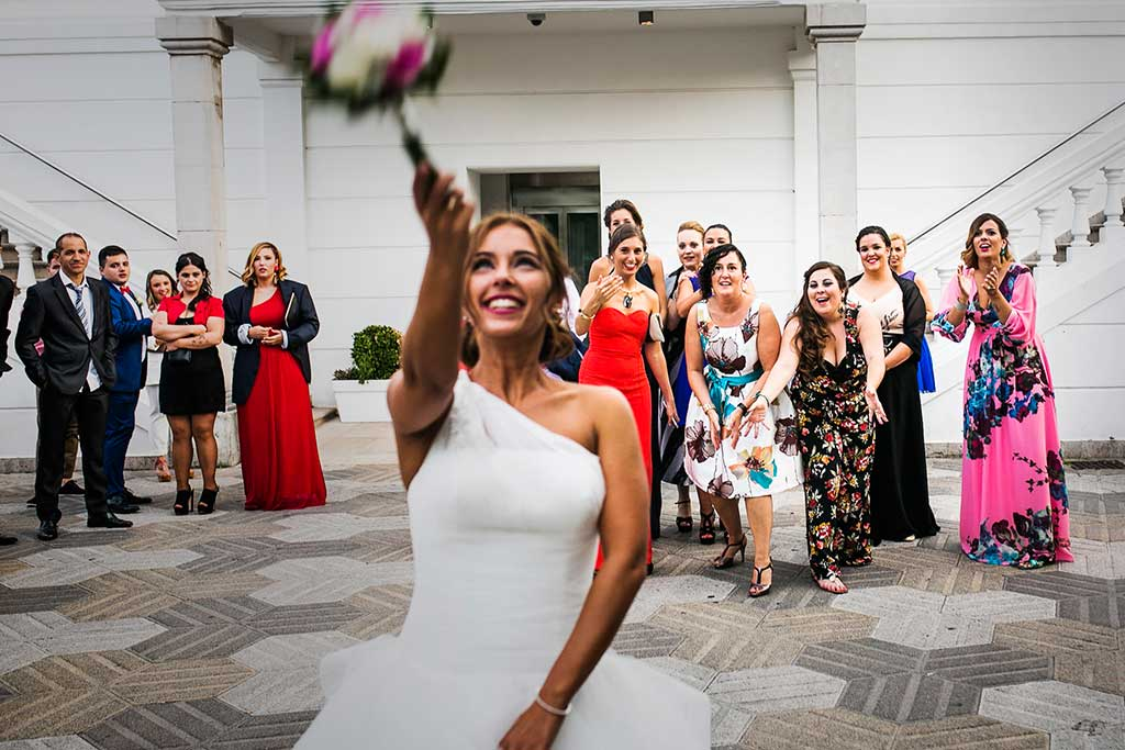 fotógrafo de bodas Santander Sandra y Fran ramo
