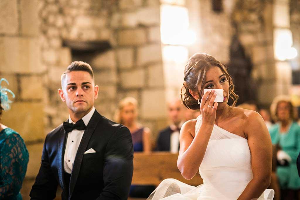 fotógrafo de bodas Santander Sandra y Fran lloros