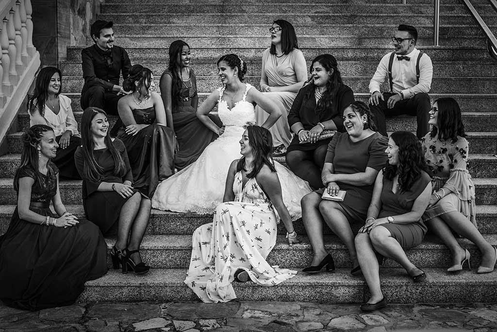 fotógrafo de bodas Cantabria Sara y Luis amigas