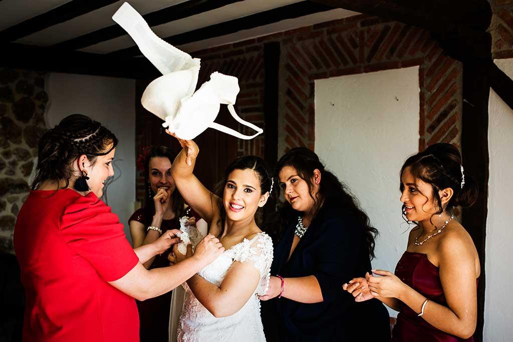 fotógrafo de bodas Cantabria Sara y Luis vestido