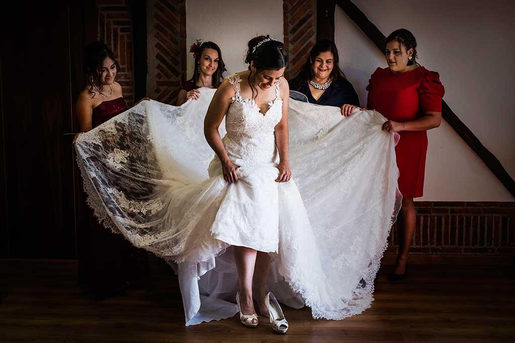 fotógrafo de bodas Cantabria Sara y Luis zapato