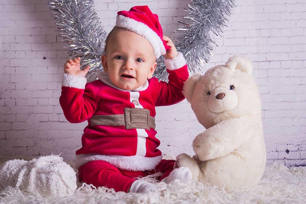 fotos de bebes navidad Marcos Greiz Enzo gorro