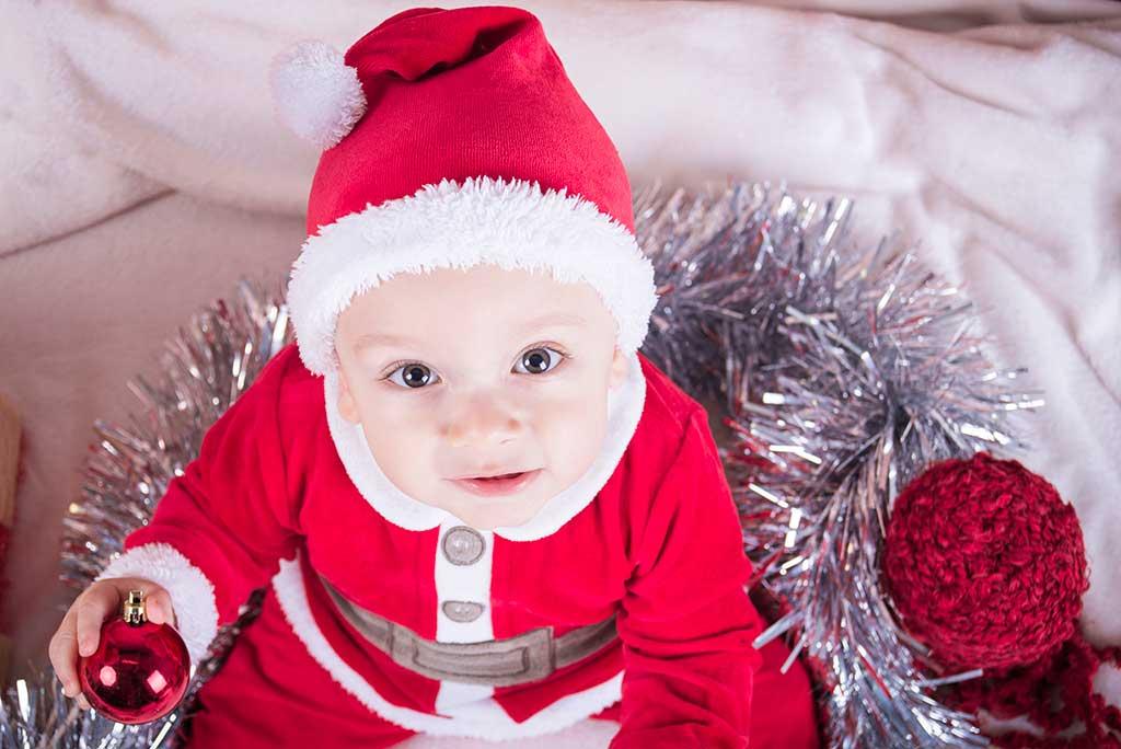 fotos de bebes navidad Marcos Greiz Enzo miradas