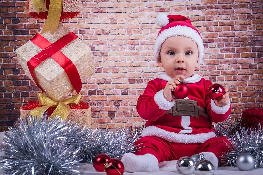 fotos de bebes navidad Marcos Greiz Enzo regalos
