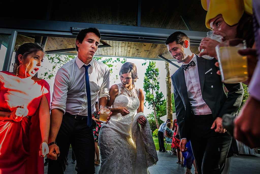 fotografo de bodas Santander Mario Carla momento fiesta