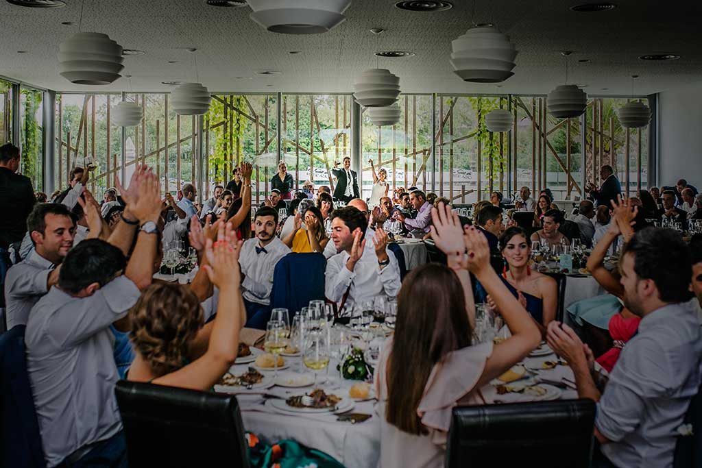 fotografo de bodas Santander Mario Carla brindis