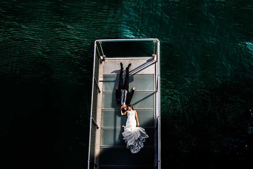 fotografo de bodas Santander Mario Carla centro botin