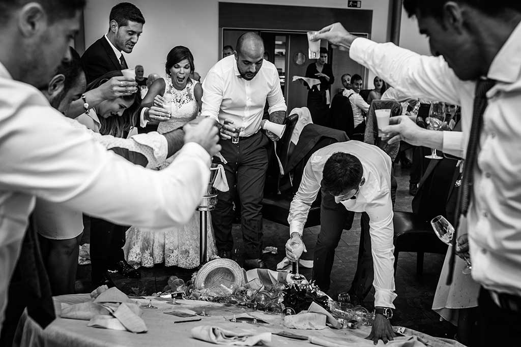 fotografo de bodas Santander Mario Carla mesa
