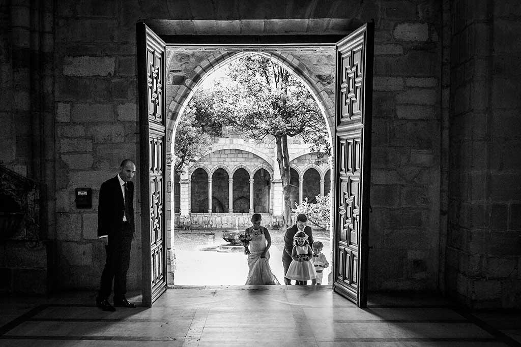 fotografo de bodas Santander Mario Carla entrada